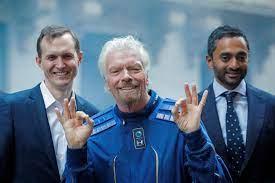 Richard Branson: Der Virgin-Galactic-Gründer im Raketen-Wettlauf