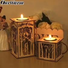 <b>OurWarm</b> Rustic Candle Holders <b>DIY</b> Wooden Candlestick <b>Hanging</b> ...