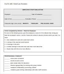 Employee Evaluation Form Template - 13+ Free Word, Pdf Documents ...