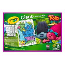 Amazon Com Crayola Giant Coloring Pages Disney Princess Toys Games
