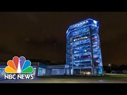 Carvana Vending Machine Locations Inspiration Car Vending Machine Newest Gimmick For Buying A New Car NBC News