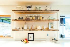 open shelving kitchen open shelving to organize kitchen with touch of visual flair ideas open kitchen