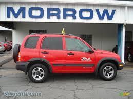 2004 Chevrolet Tracker ZR2 4WD in Wildfire Red - 907342 | VANnSUV ...