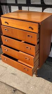 teak retro furniture. Nathan Mid Century Chest Of Drawers Vintage Teak Retro Furniture 1960s Draws Antique Bedroom Home E