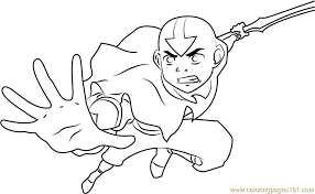 Small Picture Avatar The Last Airbender Coloring Pages