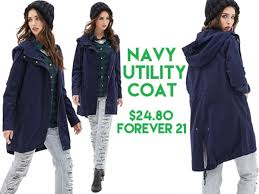 utility coat header information forever 21