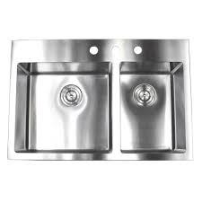 drop in top mount 16 gauge stainless steel 33 in x 22 in