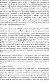 The Impact of Performance Management System on Employee     DocPlayer net failure