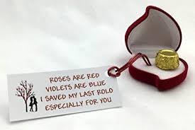 my last rolo romantic valentines birthday special novelty gift present by clever little gifts perfect