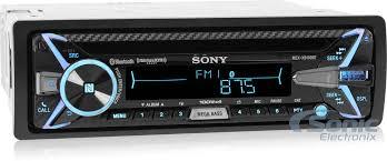sony mex xbbt hi power siriusxm ready bluetooth car stereo sony mex xb100bt