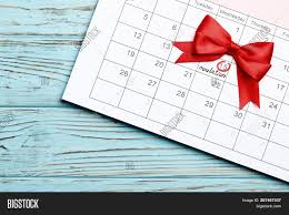 Pregnancy Day By Day Chart Circling Date 15th Day Image Photo Free Trial Bigstock