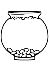 Small Picture Empty Fish Bowl Coloring Page Daycare Pinterest Empty Bowls
