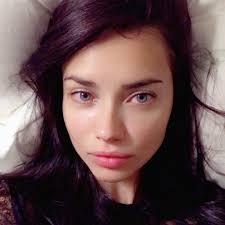 adriana lima with no makeup