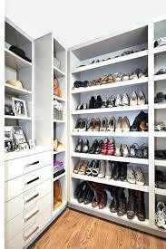 diy shoe shelves for closet shoe shelves with closet organizers closet contemporary and diy shoe shelves for closet