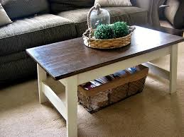 Farmhouse Inspired Walmart Coffee Table Makeover!