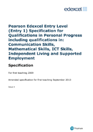 skills and qualifications skills for independent living entry 1 pearson qualifications