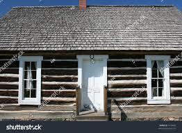 Cabin Windows old wooden cabin white windows blue stock photo 1918469 shutterstock 5011 by uwakikaiketsu.us