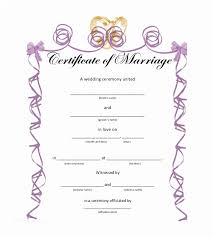 Wedding Certificate Template Delectable 48 Marriage Certificate Sample Format Ambfaizelismail
