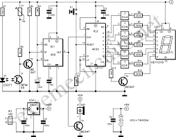 light gate with counter using 555 and 4033 circuit diagram Wiring Diagram For Counter light gate with counter using 555 and 4013 circuit diagram wiring diagram for intermatic sprinkler timer