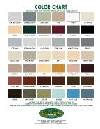 Pacific Polymers Color Chart Color Charts