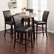 round pub style table and chairs perfect dining room minimalist pub style dining sets with square table