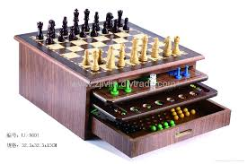 Wooden Game Sets Wood game set Lvlin China Manufacturer Board Game Card 2