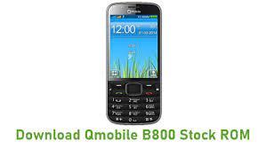 Download Qmobile B800 Stock ROM