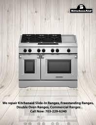kitchenaid stoves and ranges repair