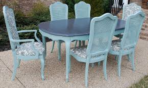 Retro Kitchen Table Chairs Retro Kitchen Table And Chairs Set Black Dining Table Blue Wall