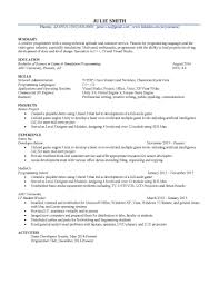 Csuf Resume Builder Resume For Study