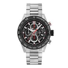 tag heuer mens watches beaverbrooks the jewellers tag heuer carrera heuer 01 automatic chronograph men s watch