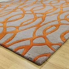 round orange rug incredible how to set a orange and grey rug on kitchen purple within round orange rug