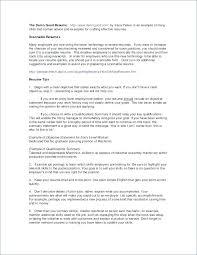 Resume Summary Of Skills Examples Successmaker Co