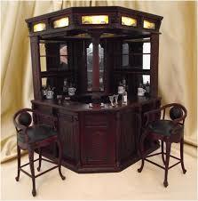 Miniature Dollhouse English Pub Bar Set $435 00 Dollhouse