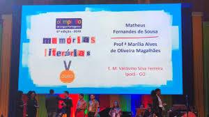 Aluno da rede municipal de ensino de Iporá recebe prêmio nacional - Goiás  24 horas