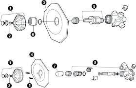 pfister shower valve bathroom faucet parts part replacement shower valve pfister shower
