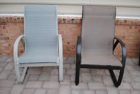 spray paint patio chairs for modern style how to spray paint plastic