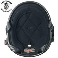 Novelty Helmets Novelty Motorcycle Helmet Flat Black Bullet Beanie By Voss