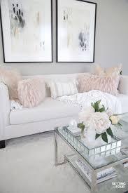 elegant spring living room decorating