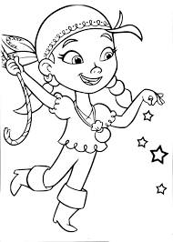Coloriage Pirate Fille Imprimer