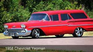 1958 Chevrolet Yeoman - YouTube