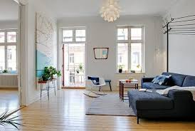 cool blue interior paint and colorful decorative accents summer living room decorating ideas best living room paint colors