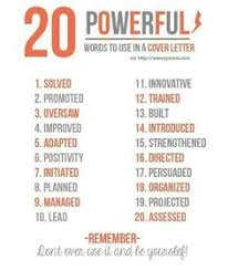 How To Wow Any Hiring Manager With 80 Resume Power Verbs Pinterest