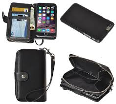 apple iphone 6s plus 6 plus leather purse wallet case detachable magnetic cover