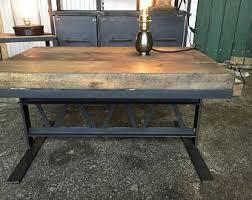 metal industrial furniture. Industrial Furniture Coffee Table Made Of Wood And Steel Metal N