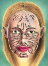 Acupressure Face Chart Face Analysis Become Healthy Or Extinct