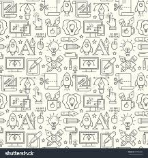 Vector Graphic Design Seamless Pattern Grey Stock Vector Royalty