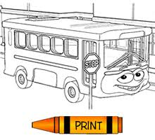 Small Picture Getting Around Free Transportation Colouring Pages from