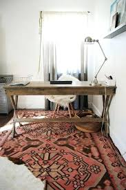 image of home office rug placement rug ideas rug ideas yhome feminine office with plush