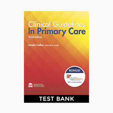 Brunner Suddarth 12 Edition Test Bank Clinical Guidelines In Primary Care Hollier 3rd Edition Test Bank
